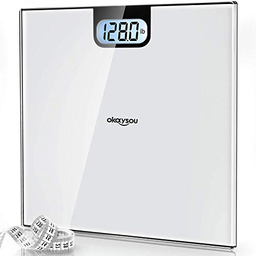 Okaysou Accurate Digital Bathroom Body Weight Scale, All-New Weight Scale with 3.6