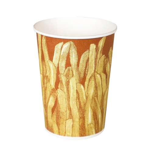 Solo GRS12 12 Oz. French Fry CupPaper Great Fries 1000-Pack