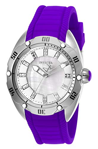 INVICTA Venom Lady 38mm Stainless Steel Silver dial PC21 Quartz