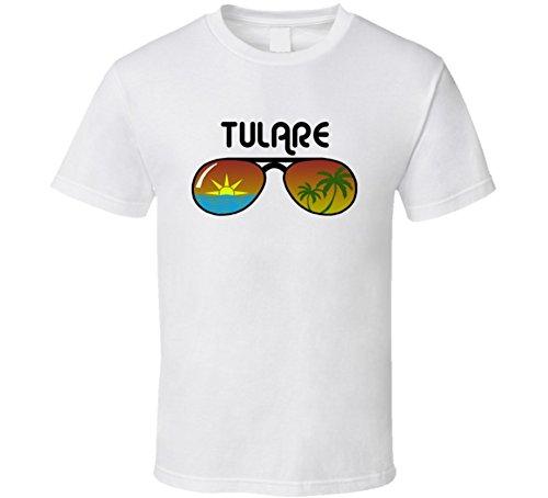 Jokertshirt Tulare Sunglasses Favorite City Fun In The Sun T Shirt S - Tulare Glass