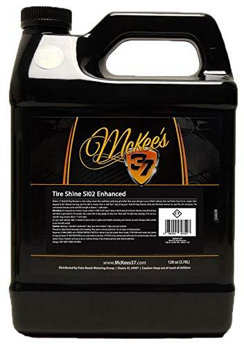 McKee's 37 MK37-831 Tire Shine SiO2 Enhanced 128 Fluid_Ounces by McKee's 37 (Image #1)