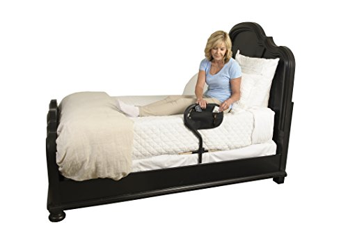 Stander BedCane - Adult Home Bed Safety Rail  & Handle + Height Adjustable Elderly Standing Assist...