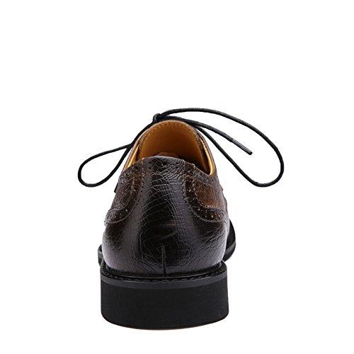 Scarpe Da Uomo Daffari Prasebull Moda Formale (eur 43, Kaki) Kaki