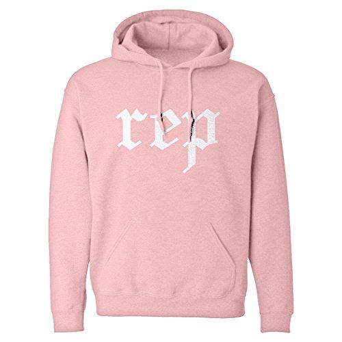 Indica Plateau Hoodie Reputation Medium Light Pink Hooded Sweatshirt