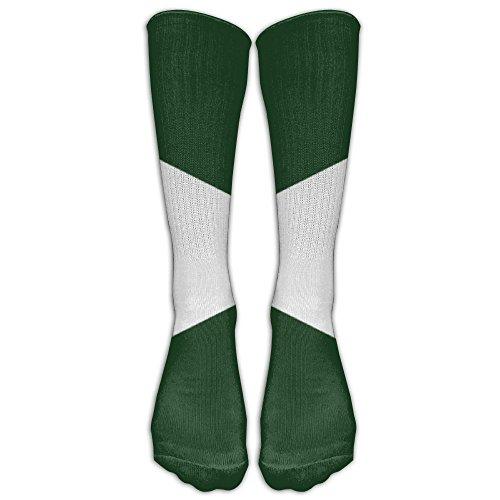 Unisex Jamaican Flag In Two Colours Sports Baseball Running Tube Socks With Knee High Long Socks
