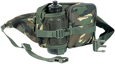 Mil-Com Mens Waist Bag /& Water Bottle One size Camo