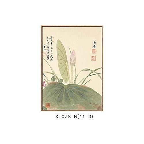 Chinesische DEED Moderne Schlafzimmermalerei und Wandmalerei botanische Blumenmustermalerei Elegante Malerei B Elegante Dekorative Wohnzimmerdekorationsmalerei qBgEBZwx