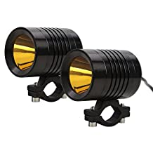 Rupse 2pcs 30W U3 CREE LED Spot Light Motorcycle Car boat Off Road Fog Driving Work Headlight