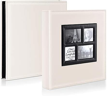 Ywlake Photo Album 4x6 1000 Pockets Photos Extra Large Capacity Family Wedding Picture Albums Holds 1000 Horizontal and Vertical Photos Black