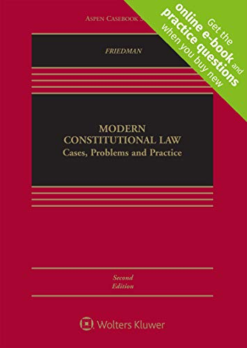 Modern Constitutional Law: Cases, Problems and Practice [Connected Casebook] (Aspen Casebook) ()