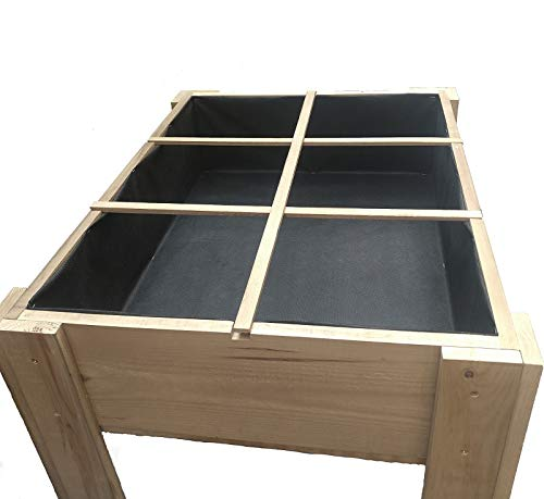 Montaje Muy f/ácil y r/ápido. La Noria huerto Urbano 60x80x80 cm