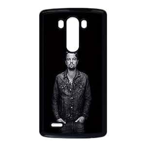 LG G3 Cell Phone Case Black 2 Leo Dicaprio Film Face Sckos