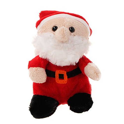 Christmas Santa Plush Toy - 4.7 Inches