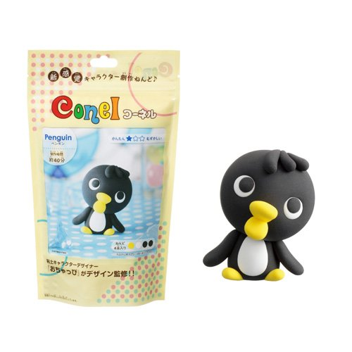 "Creative Clay Kit Conel ""Penguin""#4842 by hanayama"