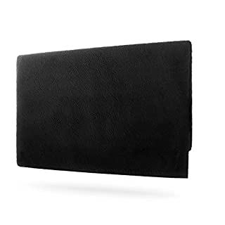 Wanty Nintendo Switch Dust Cover Soft Velvet Lining Anti Scratch Cover Sleeve Pad for Nintendo Switch Charging Dock (black)