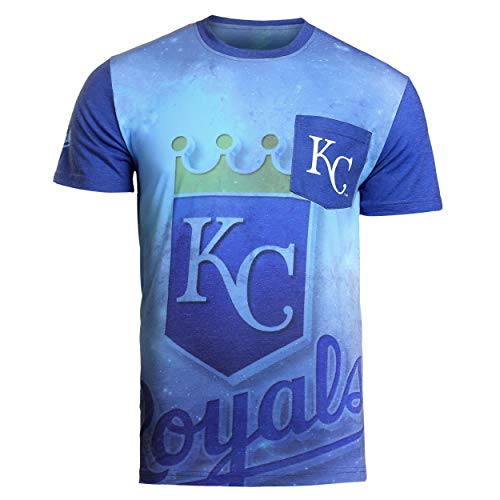 FOCO MLB Kansas City Royals 2016 Cotton/Poly Pocket TEE Extra Large