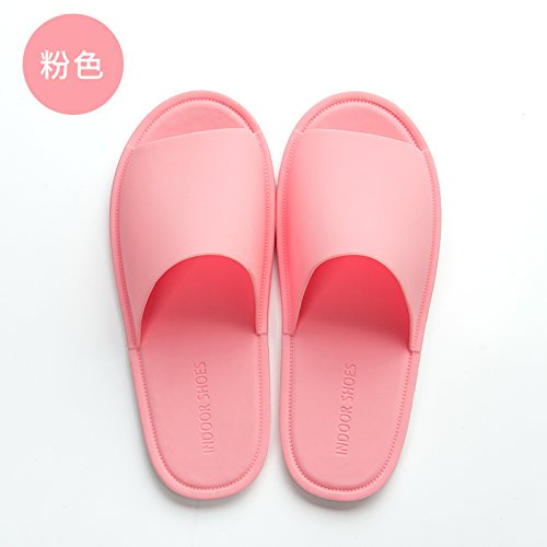 40 The Summer Pink Bath Female Bathroom Anti Soft Bottom Cool Household Slippers Men's fankou Slip Slippers Summer 39 Home Indoor UEwdqdH