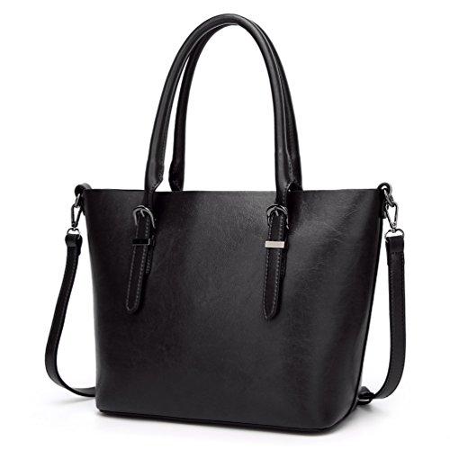 Pelle Pu In Donne 3 Bag Un'immagine A Shopping Morbida Tracolla Moda Di Yilianda Casuali Messenger Come Borsa vwqp0xv