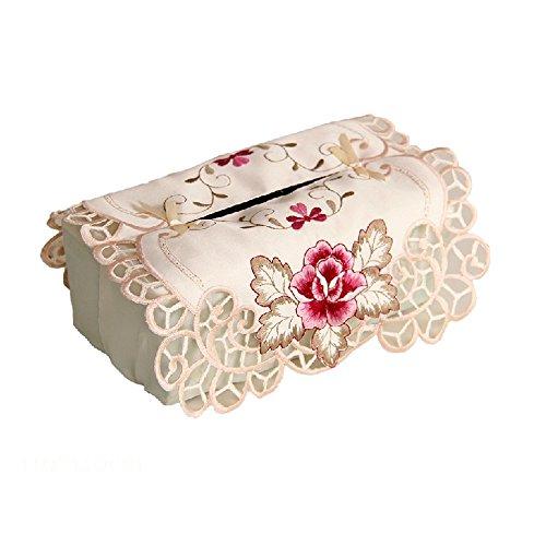 yazi Embroidered Rectangle Wedding Valentines
