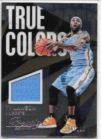 Ty Lawson 2014-15 Prestige Plus True Colors Materials #196/199 Denver Nuggets Jersey Insert Card #2 ()