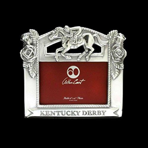 Arthur Court Designs Aluminum 4x6 Kentucky Derby Picture Frame (Kentucky Derby Picture)