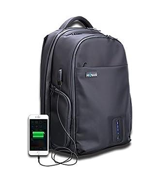 Mochila con batería incluida cargador USB para dispositivos móviles