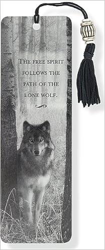 Wolf Bookmark