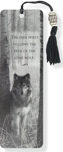 Wolf Beaded Bookmark -