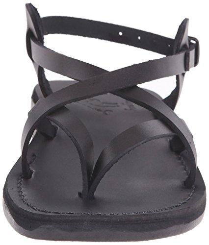 Backle Tamar Women's Jerusalem Black Sandals 7taHwH