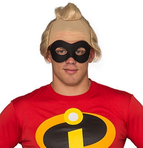 Adult Halloween Costume Cosplay Incredible Bob Wig and Mask Set