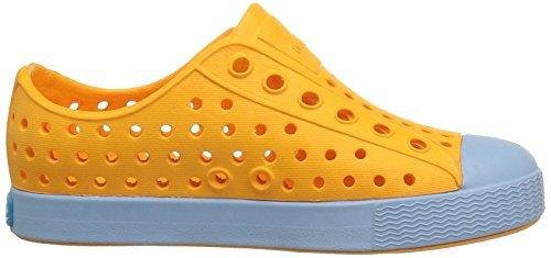 Native Kids Jefferson Water Proof Shoes, Marigold Orange/Sky Blue, 5 Medium US Big Kid by Native Shoes (Image #7)