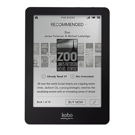 Kobo N613-KBO-B - Lector de eBooks (6