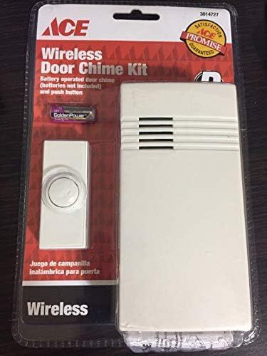 [해외]Heathco SL-7750-02 Off-White Wireless Doorbell Kit / Heathco SL-7750-02 Off-White Wireless Doorbell Kit