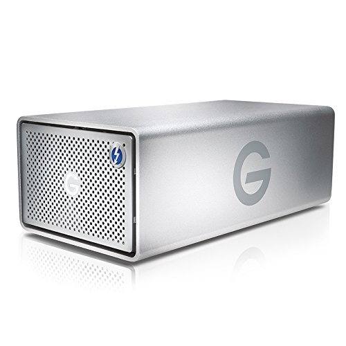 G-Technology G-RAID with Thunderbolt Removable Dual Drive Storage System 8TB (Thunderbolt-2, USB 3.0) (0G04085) by G-Technology