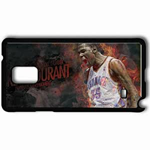 Personalized Samsung Note 4 Cell phone Case/Cover Skin 14930 thunder wp 43 sm Black