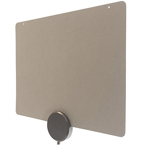 Mohu ReLeaf Indoor TV Antenna, Made with Recycled Materials,