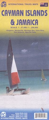 Cayman Islands & Jamaica 1:37,500/250,000 (International Travel (Jamaica Map)