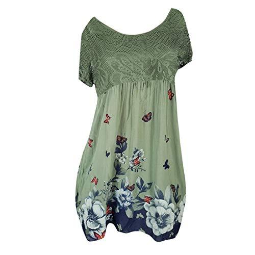 Casual Dress,Womens Elegant Dress A Line Cap Sleeve V Neck Army Green
