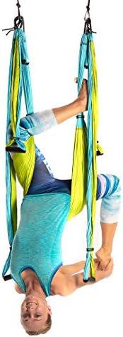 Amazon.com: Trapecio de yoga [oficial], columpio de yoga ...
