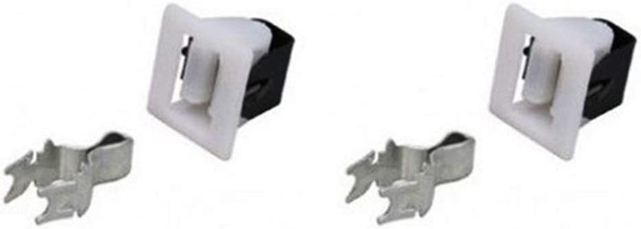 (Pack of 2) Dryer Door Catch / Latch Kit NON-OEM for Amana