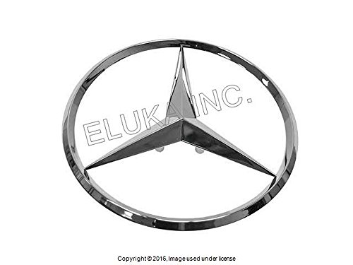 (Mercedes-Benz Genuine Trunk Star Decal Emblem S350 S400 S550 S600 S63 AMG S65 AMG)