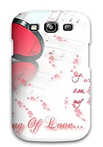 New Arrival Case Specially Design For Galaxy S3 (love Hearts Photos)