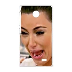 kim kardashian crying Phone Case for Nokia Lumia X