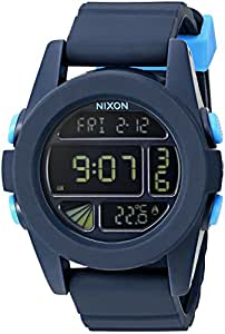 Nixon Men's A1972224-00 Unit Digital Display Japanese Automatic Black Watch