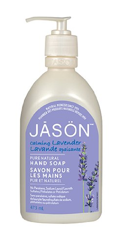 Jason Pure Natural Hand Soap, Calming Lavender, 16 Ounce