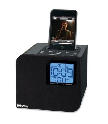 iHome iH120B Portable Speaker System For Iphone/Ipod 4G and Older (30-Pin Dock)