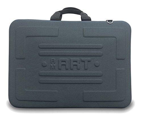 Artcare 15221090Künstlerformkoffer, A3-Format, Synthetik, 51x 5,5x 37,5cm, Schwarz 51x 5 5x 37 5cm Mapac