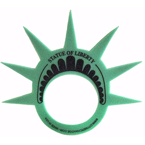 [Famous Statue of Liberty Party Crown Hat Cap and Visor Perfect for New York Party's] (Statue Of Liberty Costume Crown)