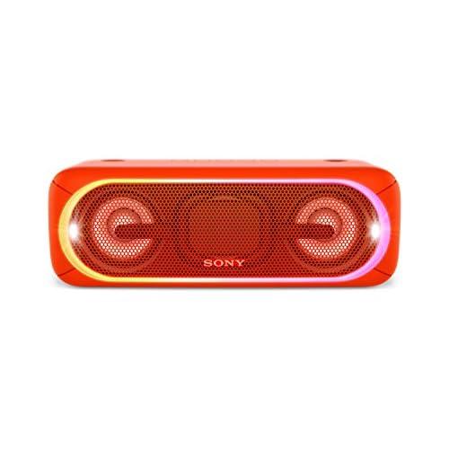 chollos oferta descuentos barato Sony SRS XB40R Altavoz inalámbrico portátil con Bluetooth y Extra Bass Rojo