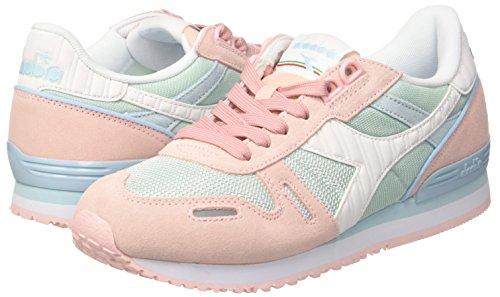 Cristallo Ii azzurro Titan Sneaker Piuma W Diadora Rosa rosa Donna T0Bq5P